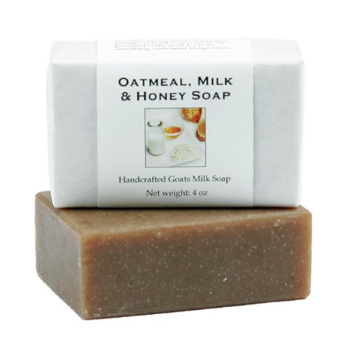 Oatmeal Milk and Honey Soap by MoonDance Soaps – Handmade Soap with Goat Milk and Oats