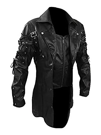 83fd1cec8ac Ladie's Gothic Victorian Studded Cutaway Jacket at Amazon Women's ...