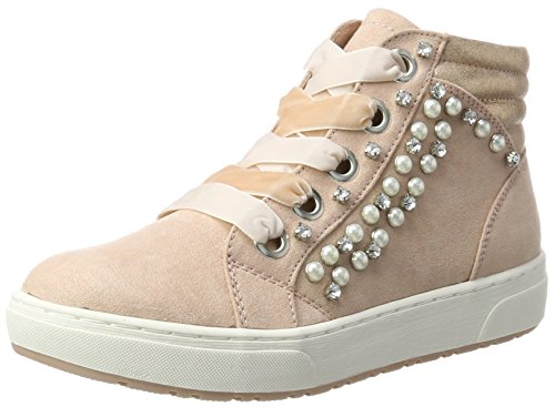 Comb Femme Hautes Marco Rouge 25268 Sneakers Tozzi Rose w0nCqIzx