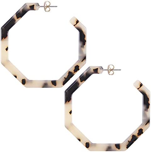 Bohemian Acrylic Geometric Earrings Lightweight product image