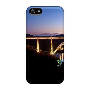 Hot Case Cover Protector For Iphone 5/5s- Garabit Viaduct Bridge Scenery