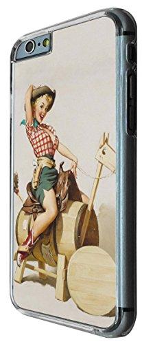 679 - Vintage Pin up Girl Sexy Design iphone 6 6S 4.7'' Coque Fashion Trend Case Coque Protection Cover plastique et métal
