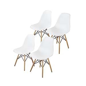 Amazon.com - Buschman Mid Century Modern Dining Room ...