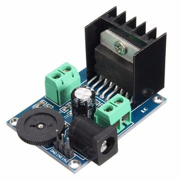 Arduino Compatible SCM & DIY Kits Module Board - AC/DC 18V TDA7297 Audio Power Amplifier Module Board Double Channel 10-50W - 1 x DC 6 to 18V TDA7297 Power Amplifier Module
