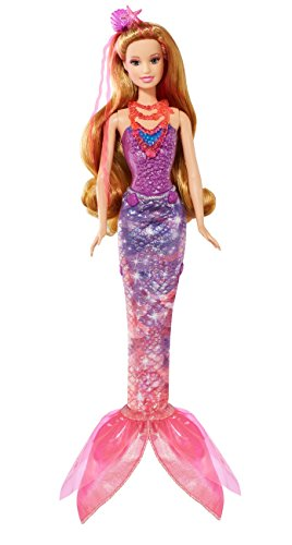 Barbie and The Secret Door Transforming 2-in-1 Mermaid Doll