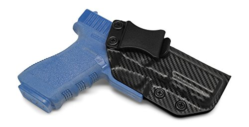 Concealment Express IWB KYDEX Holster: fits Glock 20 21 - Custom Fit - US Made - Inside Waistband - Adj. Cant/Retention (CF BLK, Right)