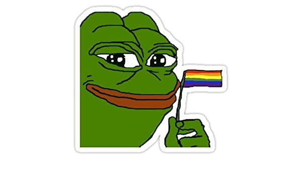 Amazon.com: Pepe Pride - Sticker Graphic Bumper Window ...