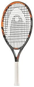 HEAD Kinder Tennisschläger Radical, Schwarz/Orange, 21
