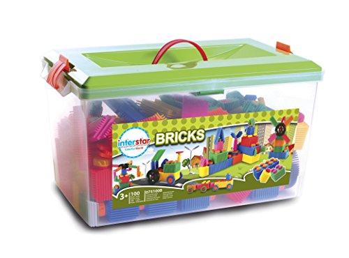 Interstar Bricks Classroom Set, 100-Piece