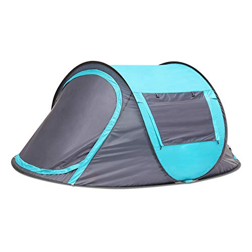 SEMOO Pop Up Camping Tent, Lightweight Instant 2-Person Hiking Traveling Tent with Carry Bag, Easy Set up