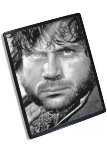 OLIVER REED - Original Art Mouse Mat (Signed by the Artist) (Oliver Reed Actor)