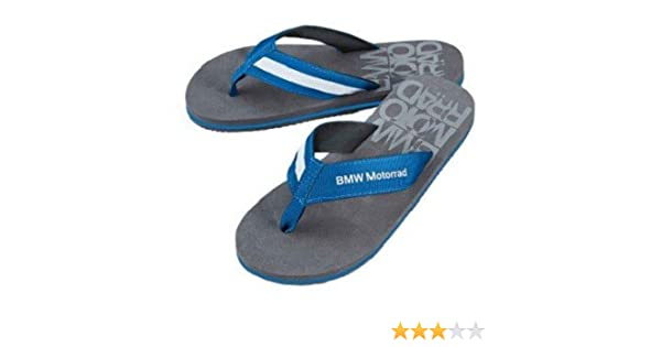 7f8c7456fe8 Amazon.com  BMW Genuine Motorcycle Riding Bmw Logo Flip-Flops EU 35 ...