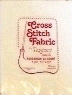 Cross Stitch Fabric By Regency ~ 1 Piece 12