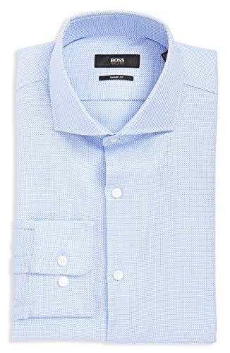 Hugo Boss BOSS Mark Slim Fit Cotton Dress Shirt by BOSS