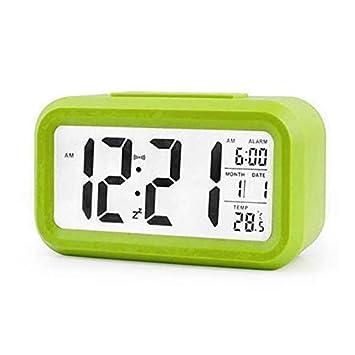 Amazon.com: Relojes de alarma para dormitorios – 2019 nuevo ...