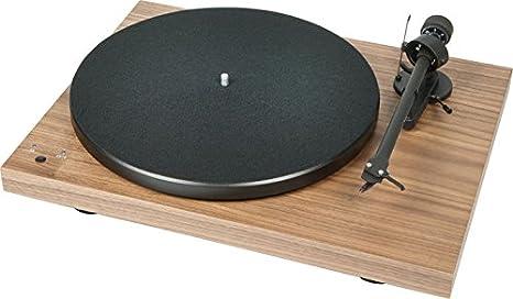 Pro-Ject Tocadiscos Hi-Fi Debut 3 Record Master nogal + célula ...