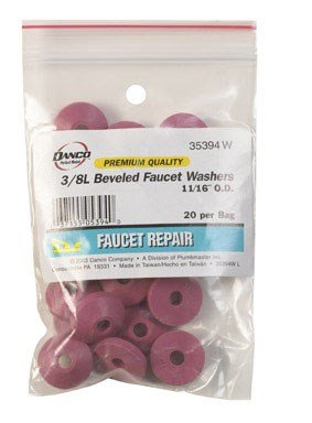 3/8 by DANCO MfrPartNo 35394W (Beveled Faucet Washer)