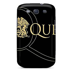 Frankqsmigh Snap On Hard Case Cover Queen Protector For Galaxy S3