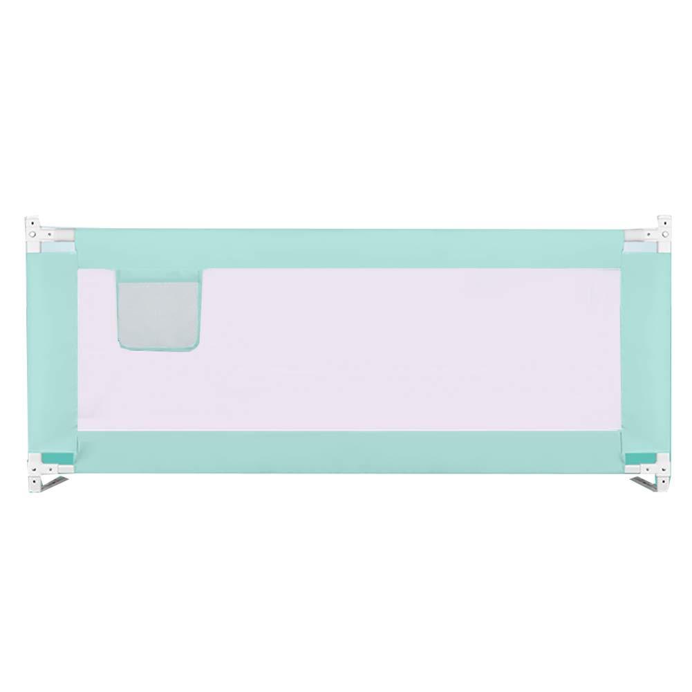 驚きの価格が実現! ベビーサークル 子供の赤ちゃんのためのベッドガード、キングサイズのベッドのための調節可能な落下防止ベッドレールフェンス (色、ツインベッドのためのベッドレール : (色 : Green, サイズ さいず サイズ : 2.0M) 2.0M Green B07MZ4X8ZZ, edge home:0223283a --- a0267596.xsph.ru
