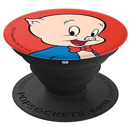 Looney Tunes Porky Pig PopSockets Grip and Stand for Phones and Tablets