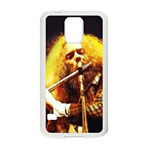 Samsung Galaxy S5 Cell Phone Case White_Jethro Tull Live At Madison Square Vjmfk