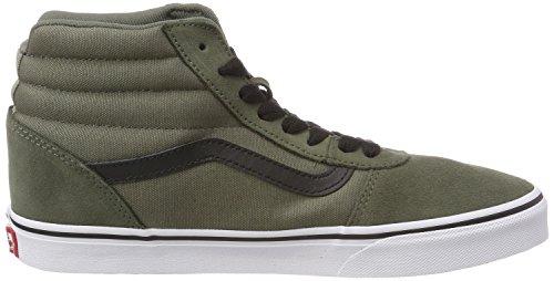 Alto Hi Suede a Canvas Uomo Black Sneaker Verde Canvas Ward U19 Suede Olive Dusty Vans Collo x0wTn