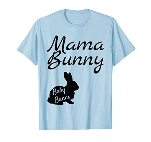 Mama Bunny Baby Bunny Shirt Easter Pregnancy Announcement ()