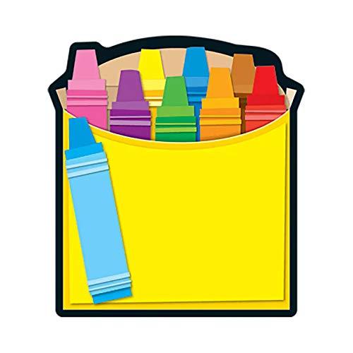 Carson Dellosa CD-151037BN Crayon Box Note Pads, MultiPk 6 -