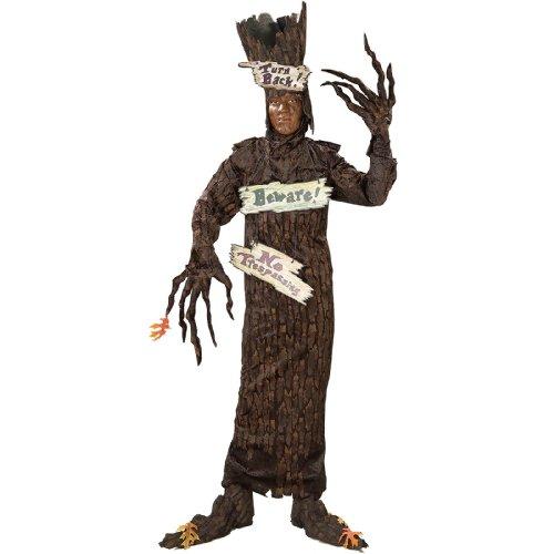 Adult Haunted Tree Halloween Costumes (Rubie's Costume Men's Haunted Tree Adult, Multicolor, Standard)