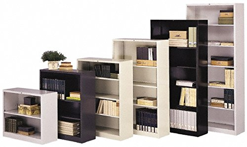 Bookcase Component - 1 Shelf, 36 Inch Wide x 12 Inch Deep x 30 Inch High, Steel Bookcase