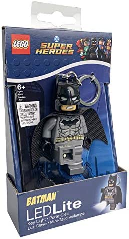 LEGO Enfants Lampes Super-héros Batman Superman DEL Lampe de poche ledlite