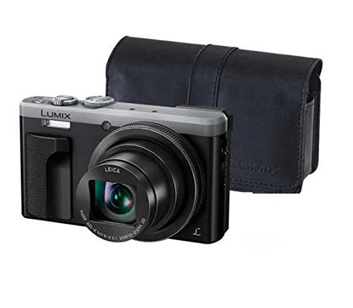 PANASONIC LUMIX 4K ZS60 Point and Shoot Camera, 30X Leica DC Vario-Elmar Lens F3.3-6.4, 18 Mp, DMC-ZS60S with CASE (Renewed)