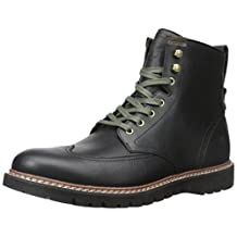 Timberland Men's Earthkeepers Britton Hill Wing Tip Blk/Nr Boot 10.5 Men US