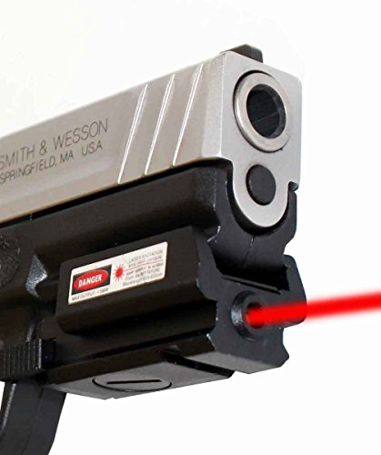 Low Profile Red Sight for Smith and Wesson Sigma New SD9VE, Class IIIA 635nM Less Than 5mW.