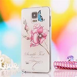 YULIN Teléfono Móvil Samsung - Cobertor Posterior - Diseño Especial/Apariencia de Diamante - para Samsung Galaxy Note 4 ( Multi-color , Plástico )
