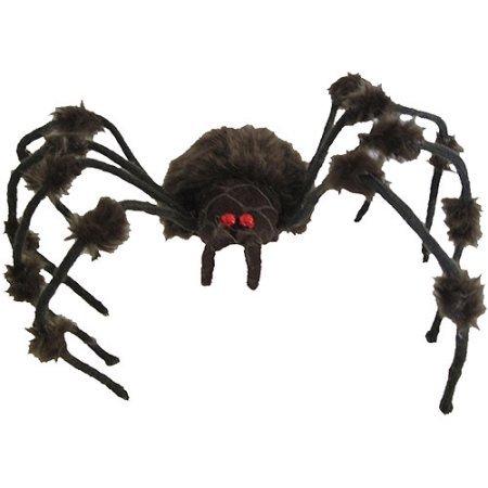 Brown/Gray Hairy Spider Halloween Decoration (Spirits Halloween Stores)