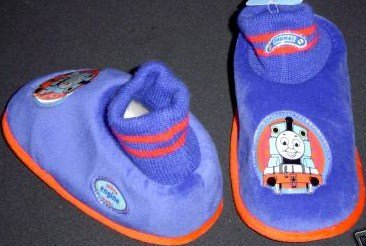 Thomas & Friends, Soft Warm Shoes/slippers, Great for Halloween Costume, Kid Size 5-6 (Thomas And Friends Costumes)