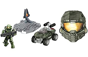 Mega Bloks de Halo Coleccionables Cascos