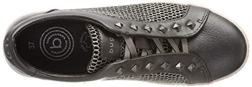 431525625969 Bugatti Sin Mujer Grey dark Cordones Metallic Para Zapatillas 1190 Gris CfrxwdnCq