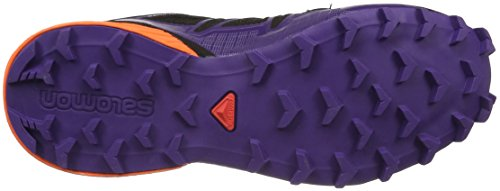 Speedcross Running De Ltd Mujer nasturtium parachute black Trail Zapatillas Gtx W 000 4 Negro Purple Salomon Para dqBxngWd
