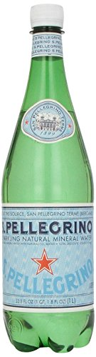 S.Pellegrino Sparkling Natural Mineral Water, 33.8 fl oz. - San Pellegrino Mineral Water
