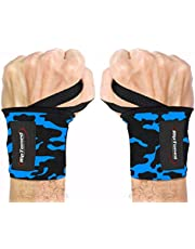 """Rip Toned Wrist Wraps - 18"""" Professional Grade with Thumb Loops - Wrist Support Braces - Men & Women - Weight Lifting, Crossfit, Powerlifting, Strength Training"""