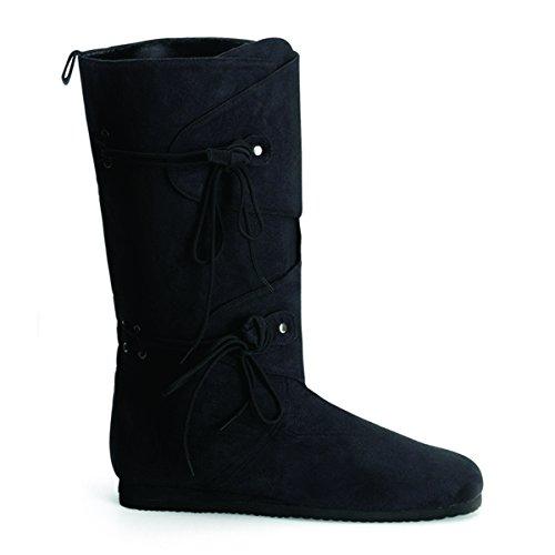 Funtasma Renaissance 100 Mens Boots, Blk Microfiber, Size - L (Mens Renaissance Boots)