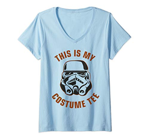 Womens Star Wars Stormtrooper Costume V-Neck T-Shirt]()