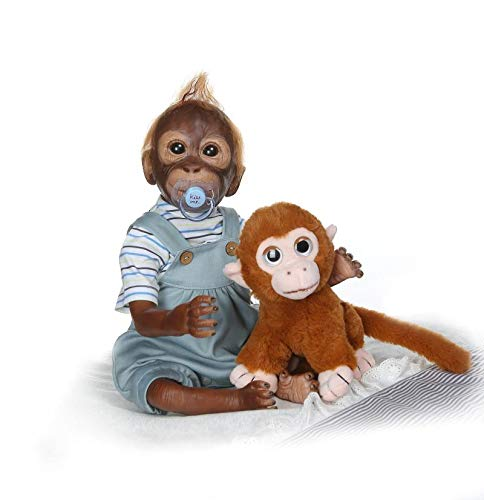 Used, NPK Collection 21inch Lifelik Handmade Reborn Monkey for sale  Delivered anywhere in Canada