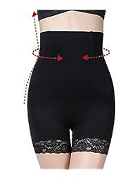 SEXYWG Women High Waist Shapewear Tummy Control Panty Slimming Boyshort Brief
