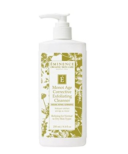 Eminence Age Corrective Monoi Exfoliating Cleanser 8.4oz(250ml) Treatment Beauty Skin