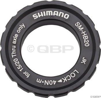Shimano SM-HB20 15/20mm Axle Hub Centerlock Rotor (Lock Disc Rear Hub)