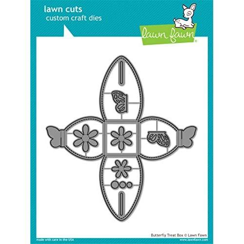Lawn Fawn Butterfly Treat Box Die (LF1905)