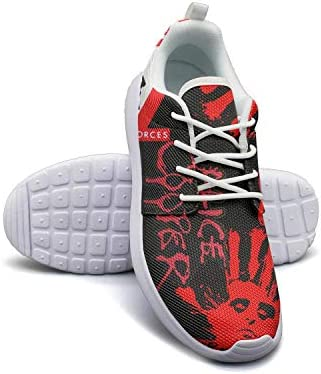 c8b4bed190e97 Amazon.com: FANS Family Tennis Shoes for Womens Alice-Cooper-Special ...